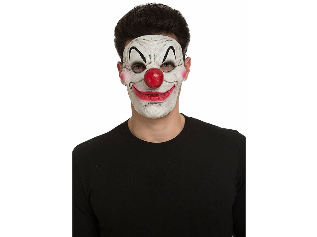 Máscara Payaso Tenebroso 18x17x11cm