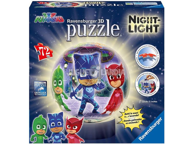 Puzzle 3D Lâmpada PJ Mask Ravensburger 11771