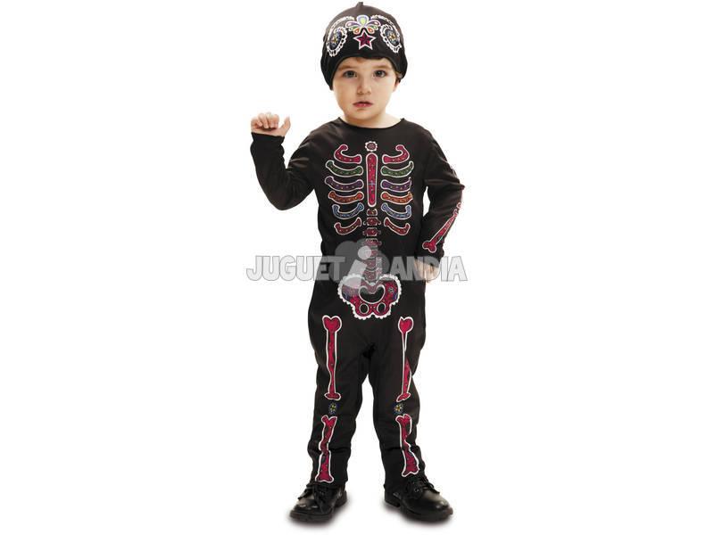 Costume Bimbo Scheletro Giorno dei Morti S