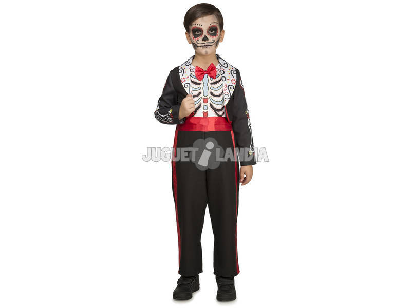 Costume Ragazzo Giorno dei Morti XL
