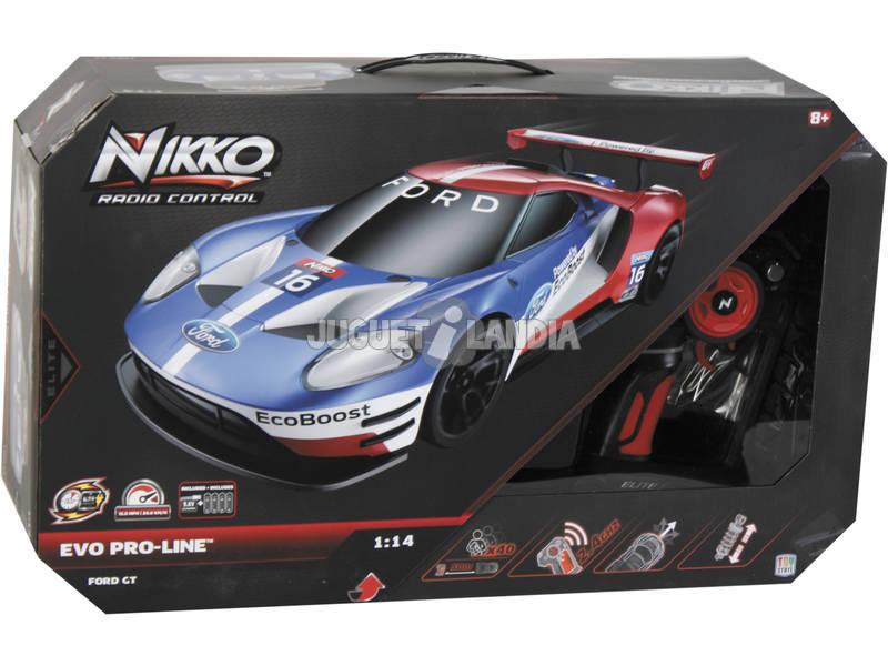 Rádio Controlo 1:14 Ford GT Nikko 94482