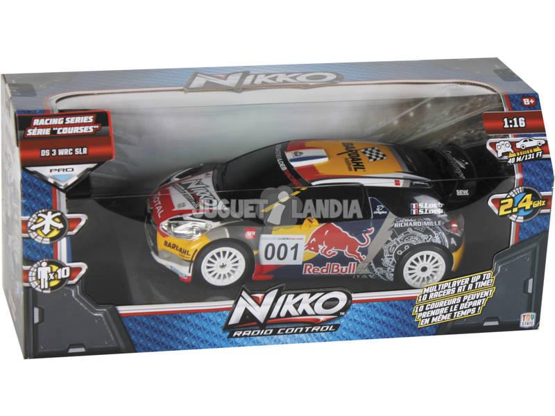 Rádio controlo 1:16 Race Series Citrôen DS3 Red Bull Nikko 94692