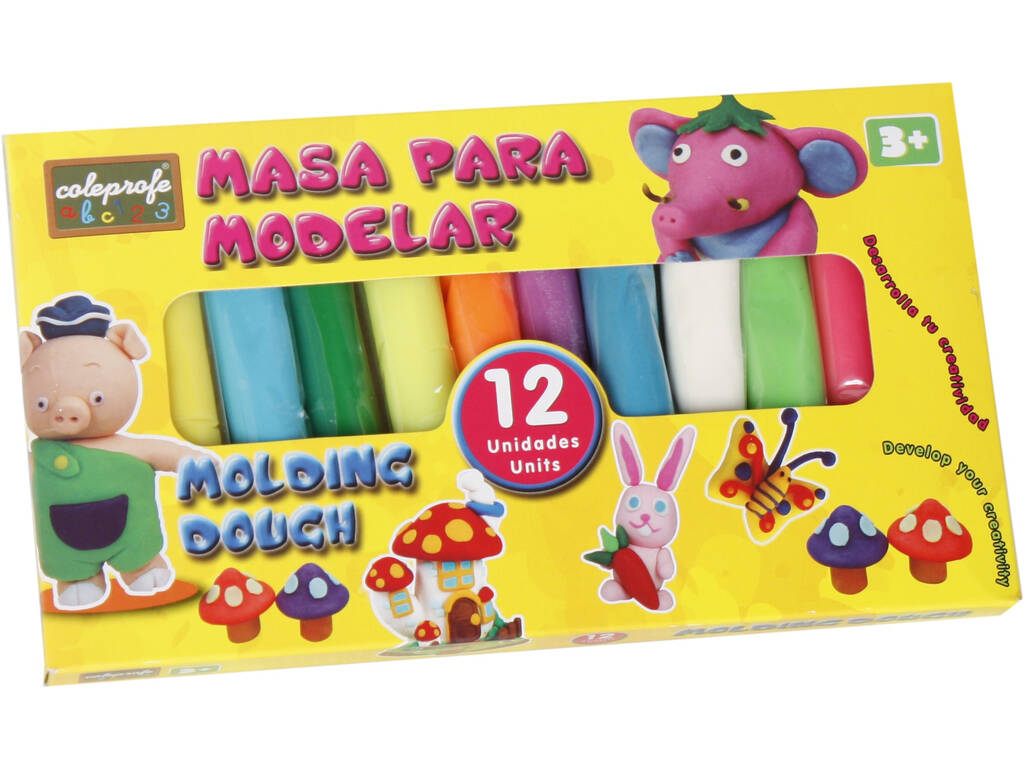 Manualità Pasta Modellante12 Colori