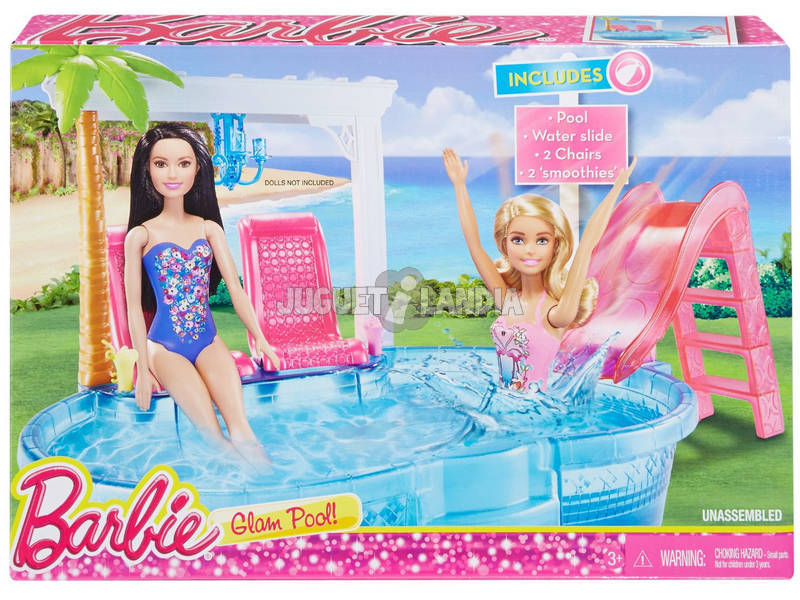 Barbie Piscina Glamurosa