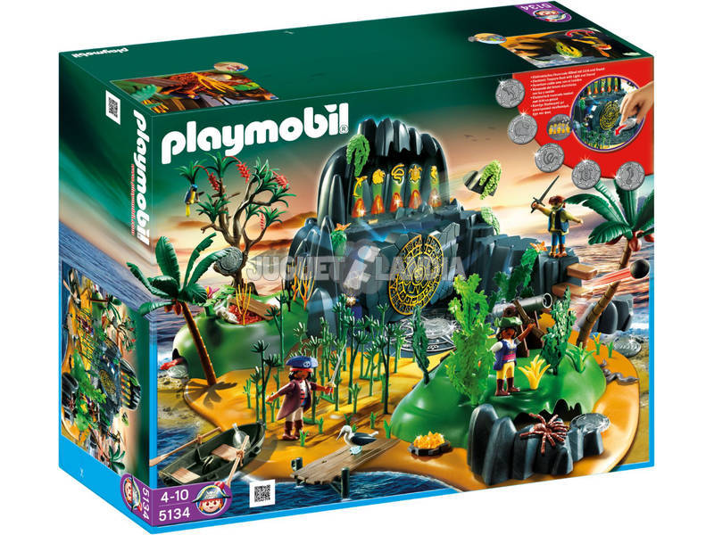 Playmobil Isla Misteriosa Pirata