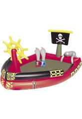 Spielplatzt 190x140x96 Zentimeter. Piratas Bestway 53041b