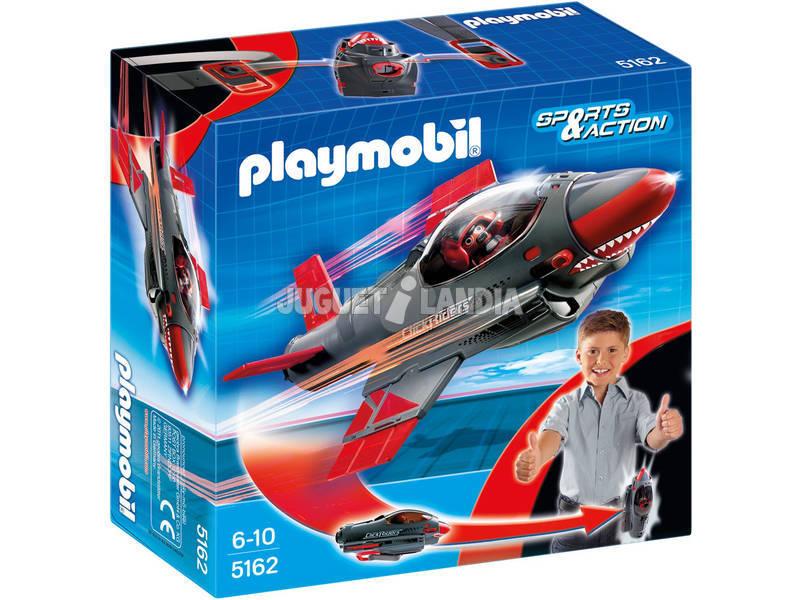Playmobil Click y Go Shark Jet