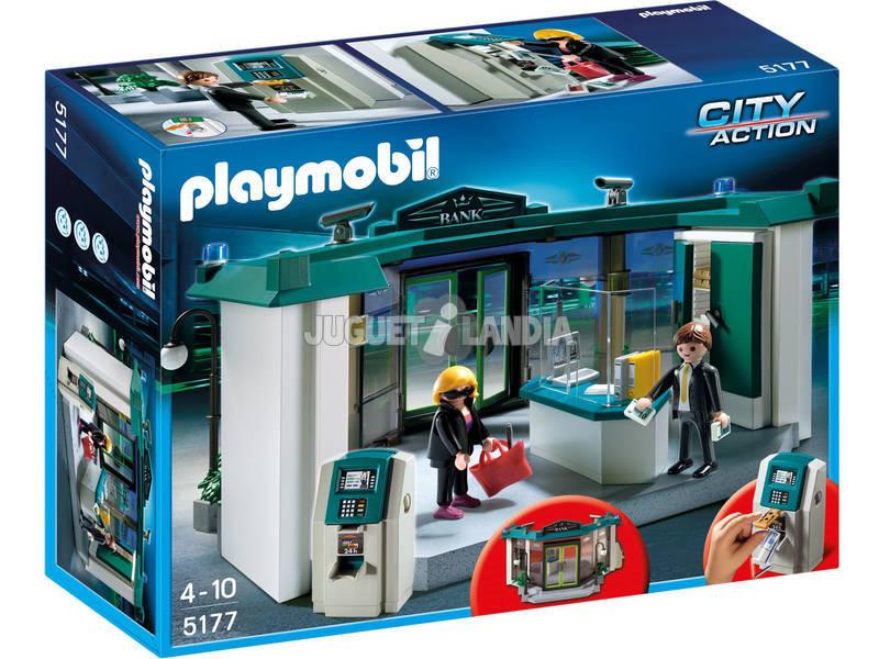 Playmobil Blanc avec coffre-fort