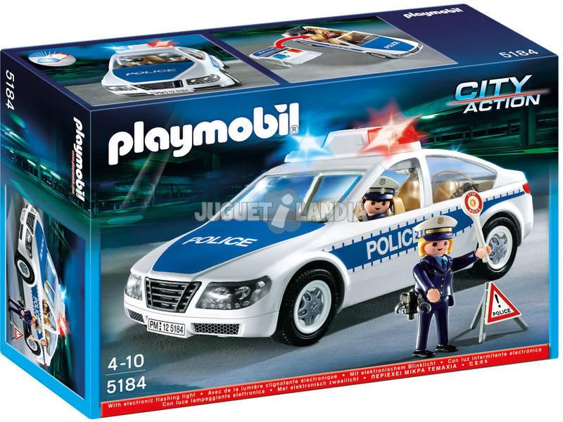 Playmobil Polizia Action-Auto con luce