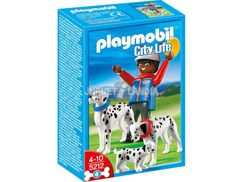 Playmobil Dalmata con cucciolo