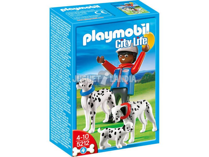 Playmobil Dalmatas con cachorro