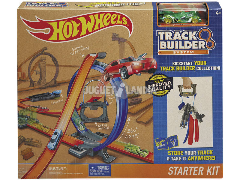 Hot Wheels Kit Pista Portátil Mattel DGD29