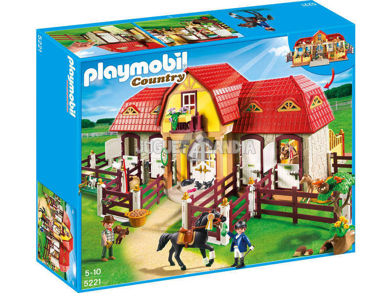 Playmobil Granja de Ponis con Establo 5221