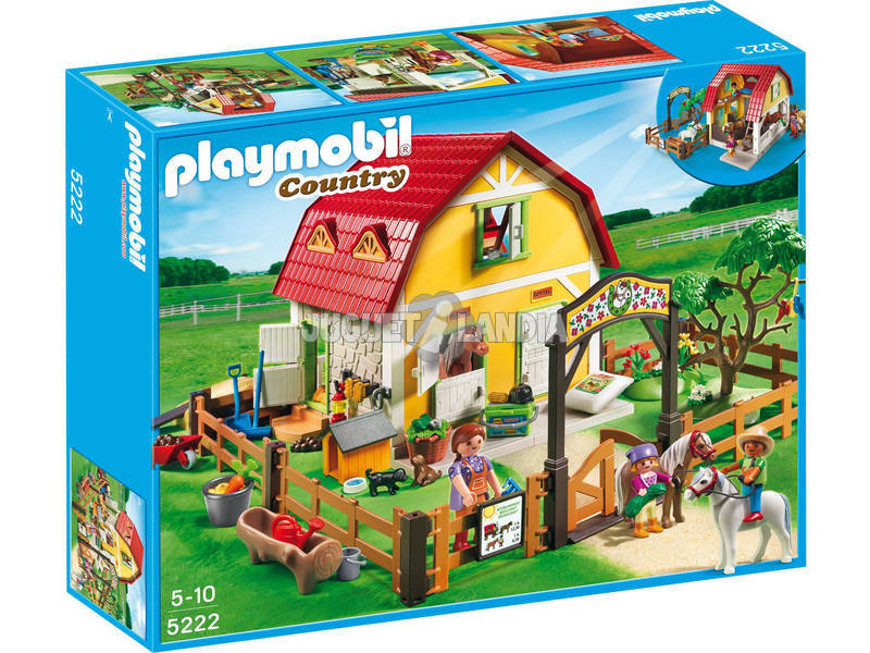 Playmobil Maneggio dei Pony