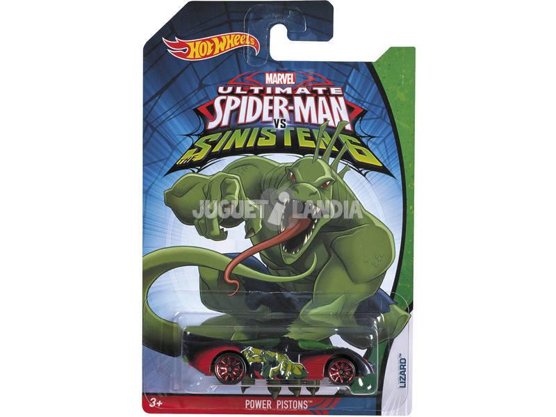 Hot Wheels Veicoli Spiderman