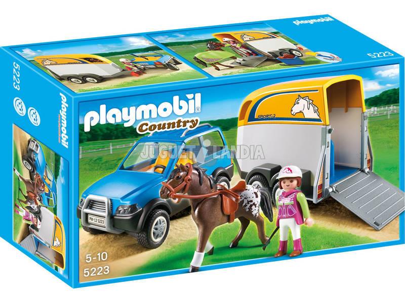 Playmobil SUV con rimorchio