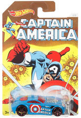 Hot Wheels Vehículos Capitán América