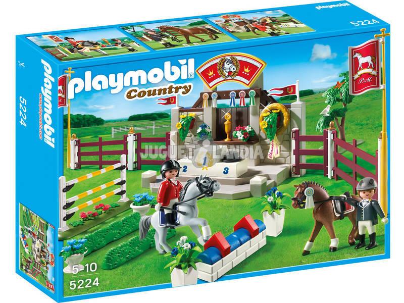 Playmobil compétition de chevaux