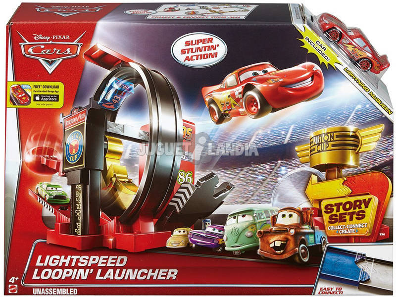 Cars Superlooping Lanzador
