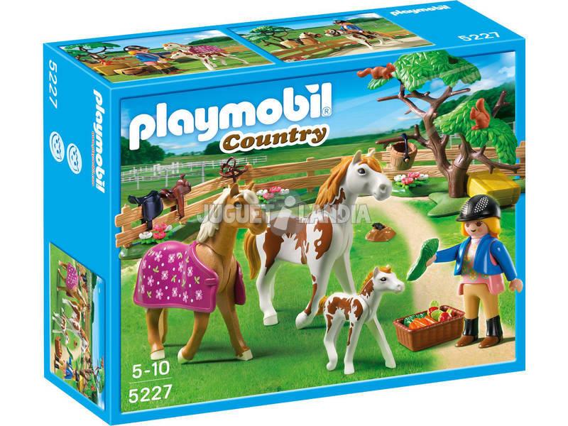 Playmobil Recinto con cavalli e pony