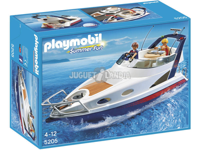 Playmobil Yacht di Lusso