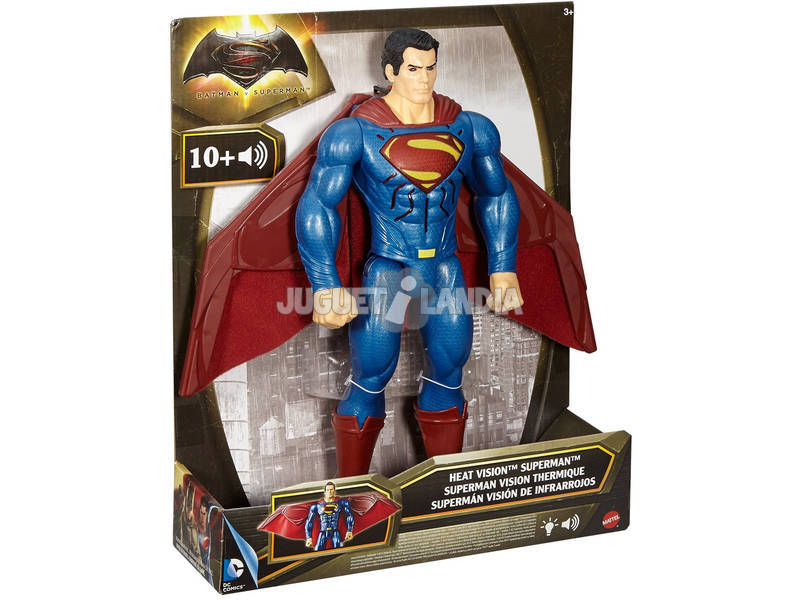 Figuras Batman Vs Superman Deluxe Luces y Sonidos