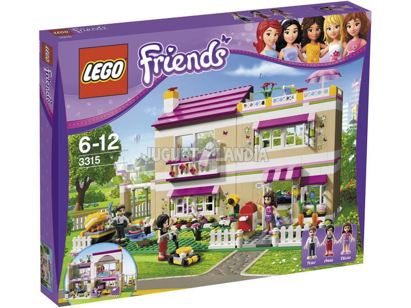 Lego Friends La Maison de Olivia