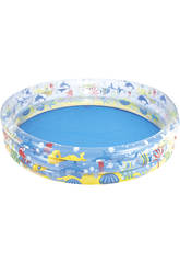 Piscine Gonflable de 3 boudins Aquarium 152x30 cm. Bestway 51004