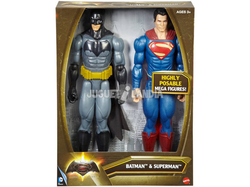Batman Vs Superman 30 cm Pack De 2 Figuras