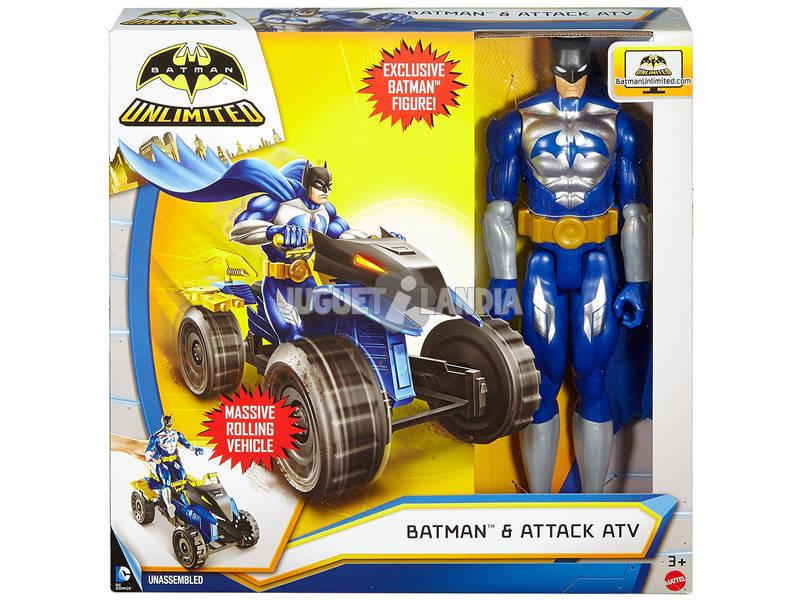Batman Figura y Vehículo 30 cm