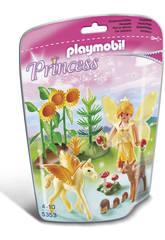 Playmobil Hada de Otoño con Bebé Pegaso
