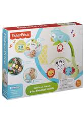 Fisher Price Móvil Musical 3 en 1 Mattel CHR11