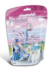 Playmobil Hada de Invierno con Bebé Pegaso