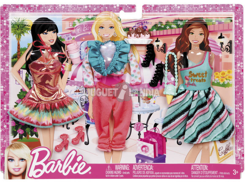 Barbie vestiti pack moda festa