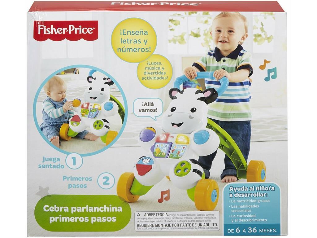 Fisher Price Cebra Parlanchina Primeros Pasos Mattel DLD87