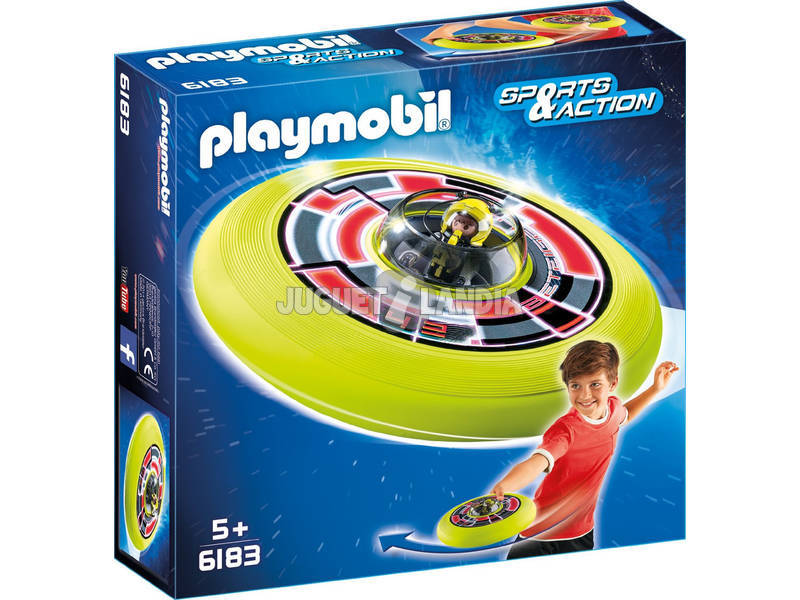 Playmobil Disco Volador Cósmico con Astronauta 6183