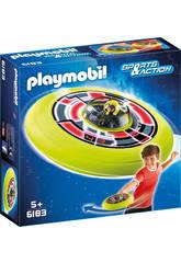 Playmobil Disco Volador Cosmico con Astronauta