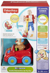 Fisher Price Coche Interactivo de Perrito