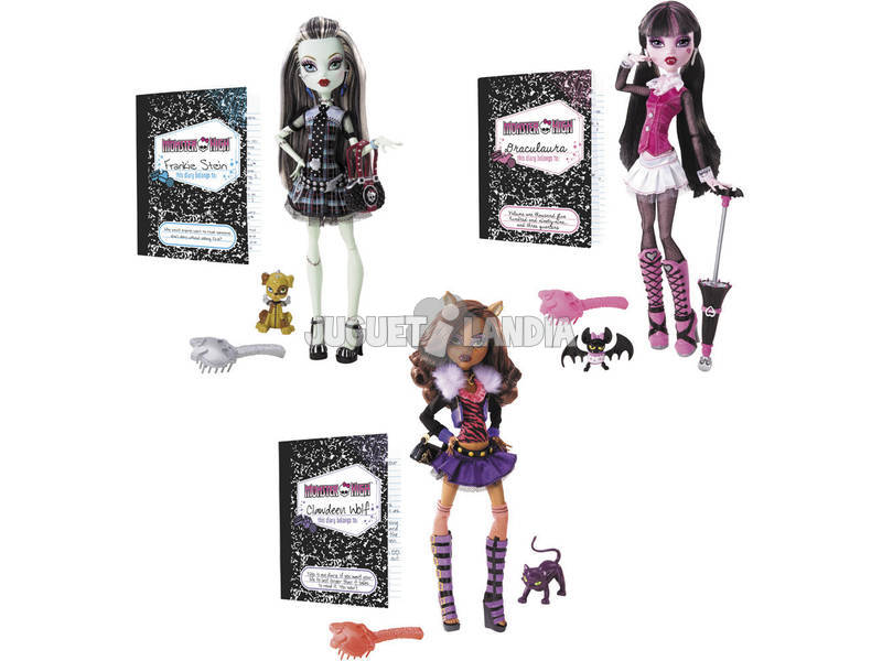 Muñeca Monster High Diseño Original Mattel BBC64