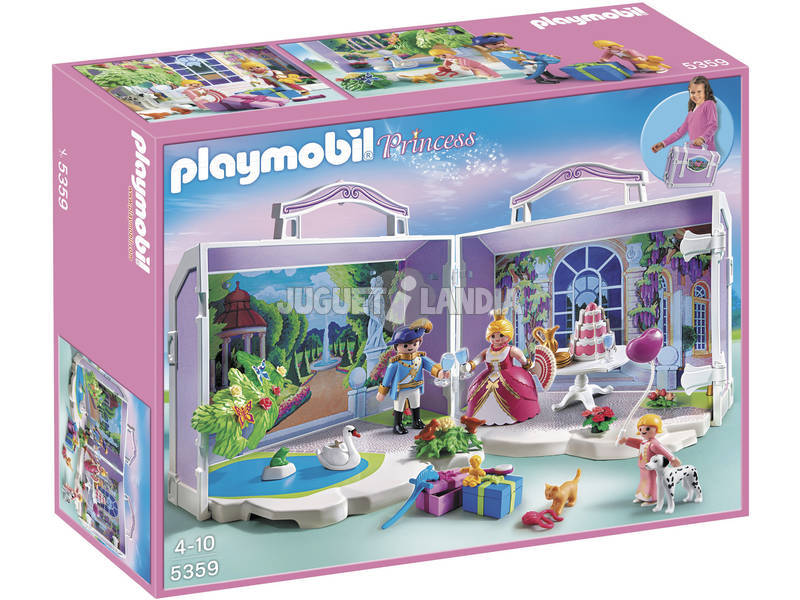 Playmobil Valigetta di Compleanno Principessa