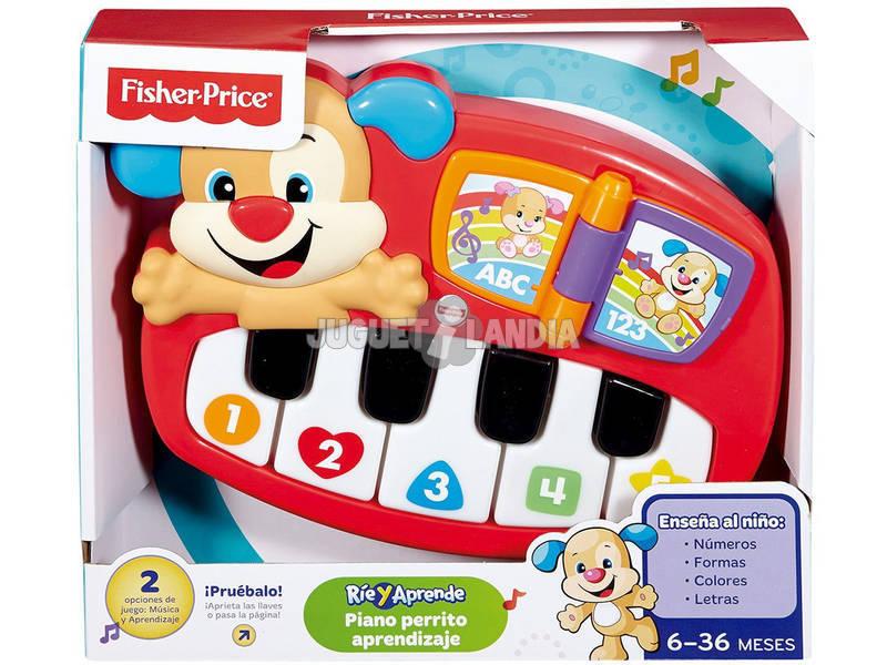 Piano Fisher Price Perrito Aprendizaje Mattel DLD24