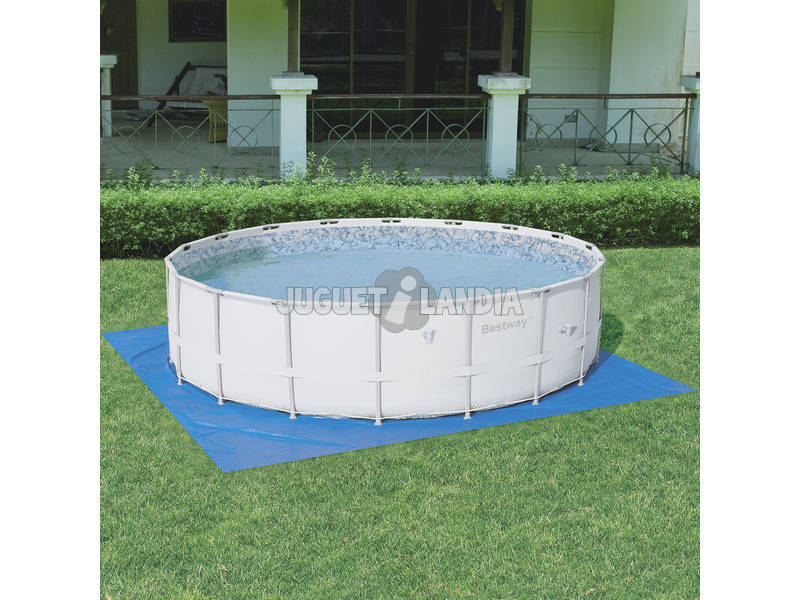 Acheter piscine d montable 549x132 cm bestway 56280 for Piscine demontable