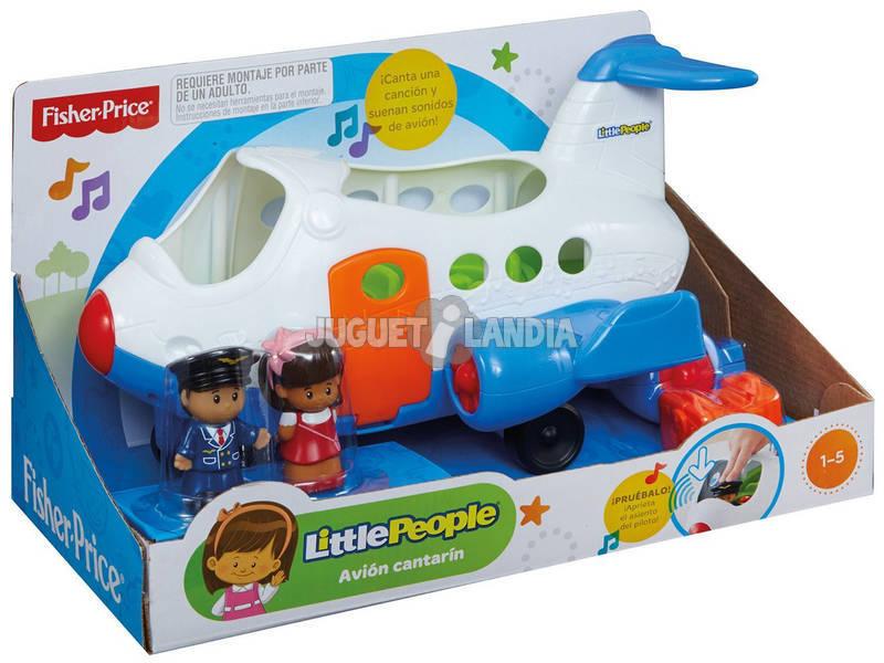 Fisher Price Avión Cantarín Mattel BJT58