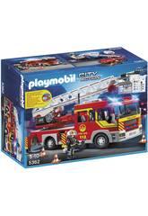Playmobil Camion de Pompiers et Échelle
