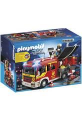 Playmobil Camión de Bomberos con Luces y Sonidos