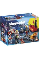 Playmobil Pompiers avec Bombe d´Eau
