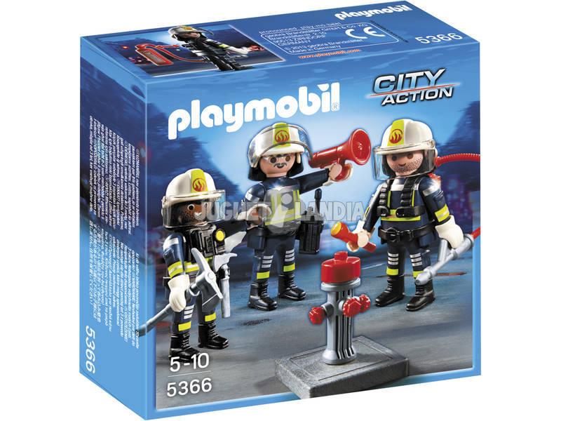 Playmobil Equipo de Bomberos