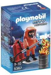 imagen Playmobil Especialista en Extincion de Incendios