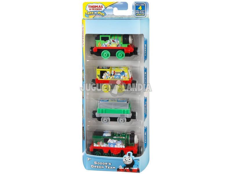 Thomas y Sus Amigos Multipack De Locomotoras