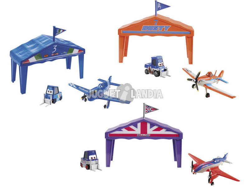 Avions box hangar de courses